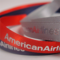 9mm Printed Ribbon American Airlines