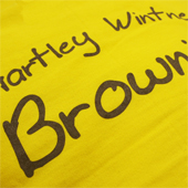 Brownie Printed Hoodies