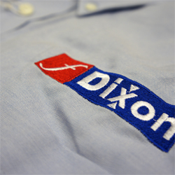 Embroidered work shirts from 6 garments