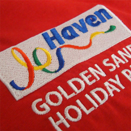 Haven embroidered polo shirts