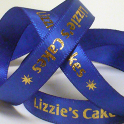 Printed Ribbon for cakes and bakerys