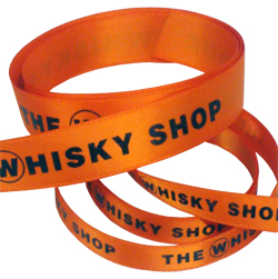 Whiskey Printed Ribbon