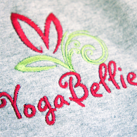 yoga printed clothing