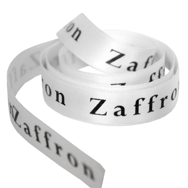 Zaffron Printed Ribbon