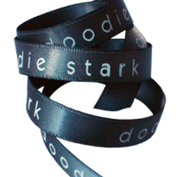 Doodie Stark 9mm double faced satin ribbon