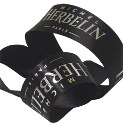 michel herbelin printed ribbon