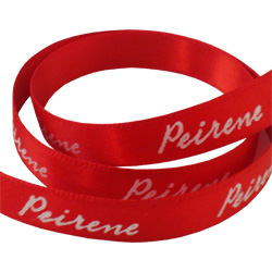 peirene printed double faced satin ribbon