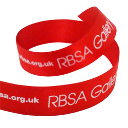RBSA Gallery Printed Ribbon
