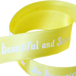So Beautiful printed ribbon